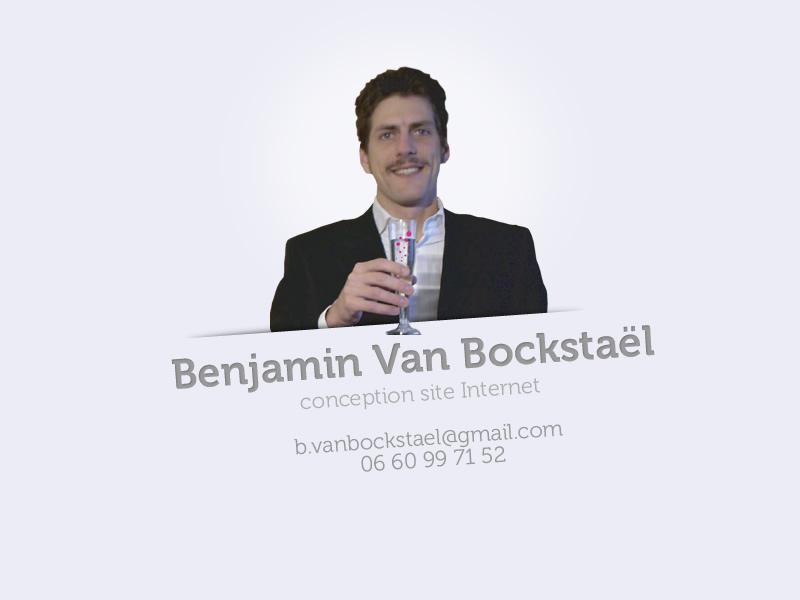 Benjamin Van Bocksta�l - contact